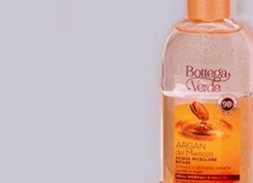 Eau micellaire biphasique démaquille, nettoie et hydrate (200 ml) Code 162414