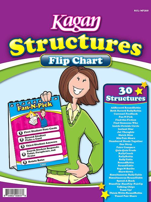 Kagan Structures (Desktop) Flip Chart