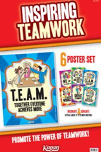 Inspiring Teamwork poster set