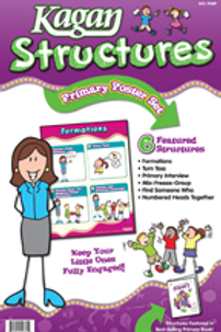 Kagan Structures Primary Poster Set