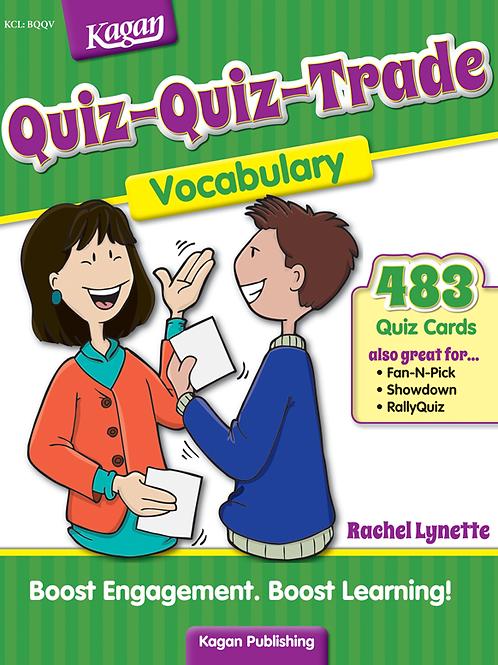 Quiz-Quiz-Trade Vocabulary