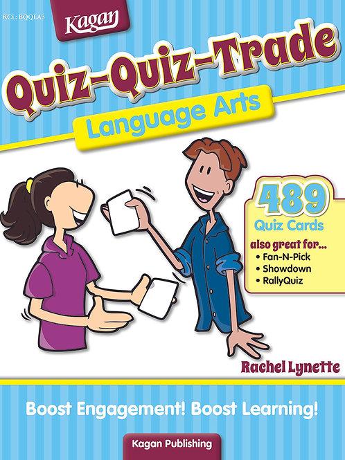 Quiz-Quiz-Trade Language Arts (Ages 8-11)