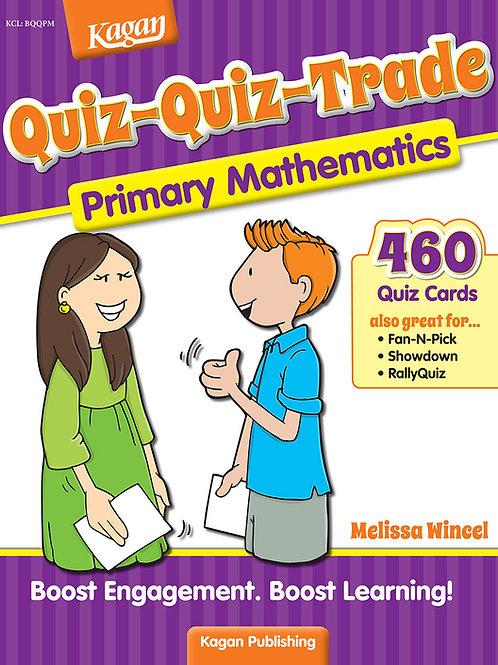Quiz-Quiz-Trade Primary Mathematics (EYFS / KS1)