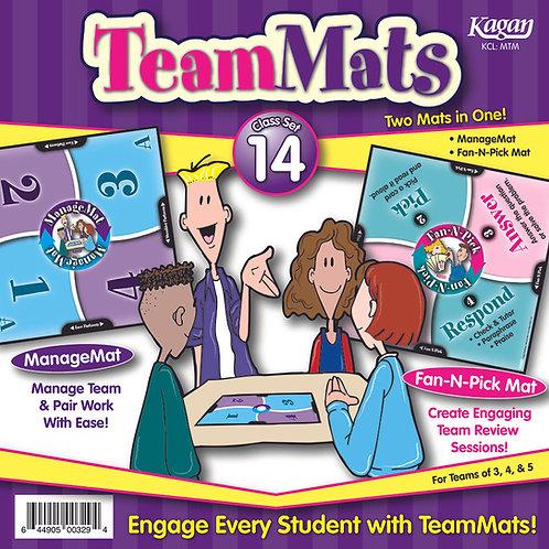 TeamMats Class Set of 14 - ManageMats & Fan-N-Pick