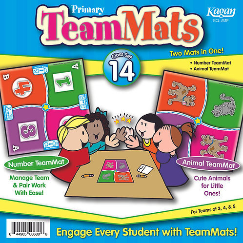 EYFS / Primary Team Mats - Class Set of 14 - Number
