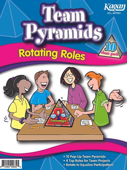 Team Pyramids - Rotating Roles