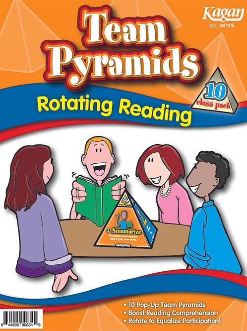 Team Pyramids - Rotating Reading