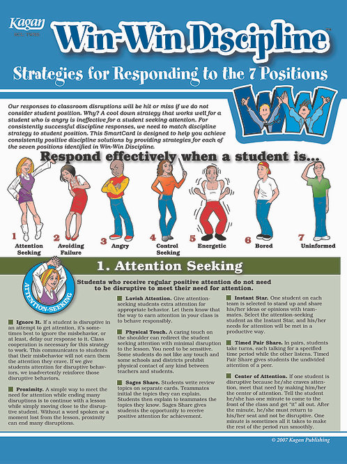 Strategies for Responding to the 7 Positions Smart