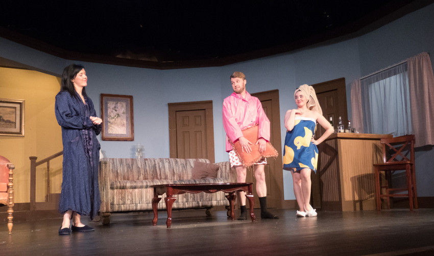 Kathleen Kelly, Ryan Cook, JoJo Johnson.