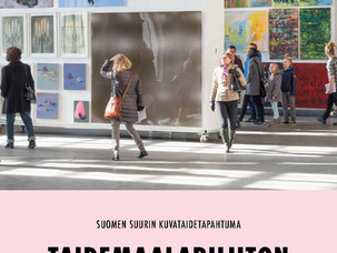 The Sales Event of Finnish Painters' Union 2017