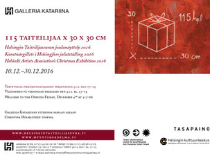 Christmas Exhibition / Helsinki Artists' Association / Gallery Katariina / 10.-30.12.2016
