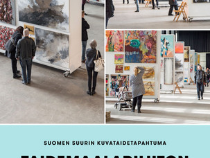 The Sales Event of Finnish Painters' Union 10.-18.3.2018