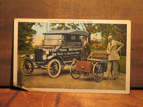 The First And Ten Millionth Ford