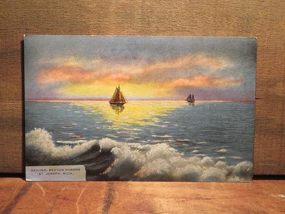 Sailing Benton Harbor