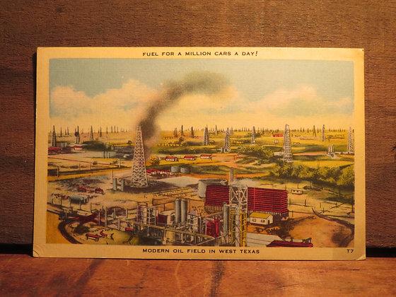 Modern Oil Field,  West Texas