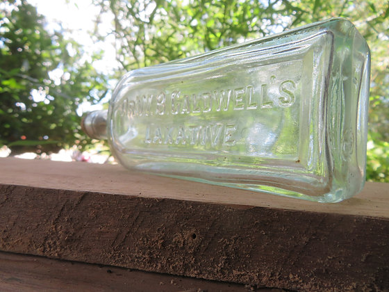 Dr. W.B. Caldwell Laxative Corked Bottle