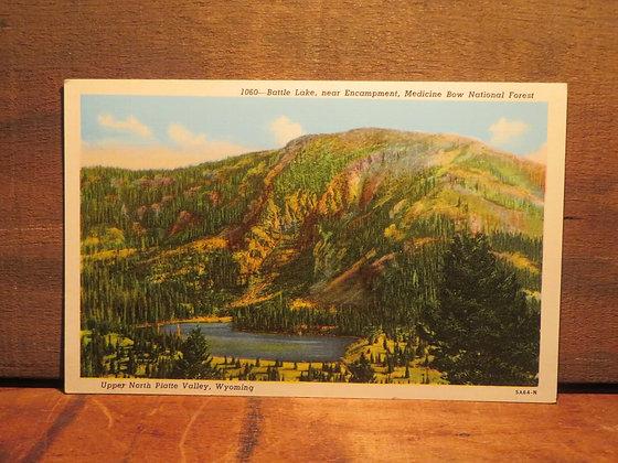 Medicine  Bow National Forest-Battle Lake, Wyoming
