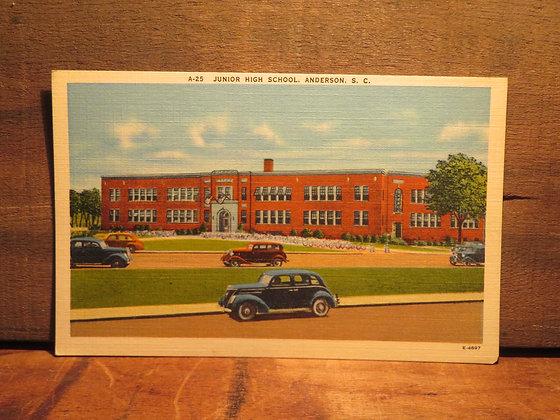 Junior High School. Anderson S. C.