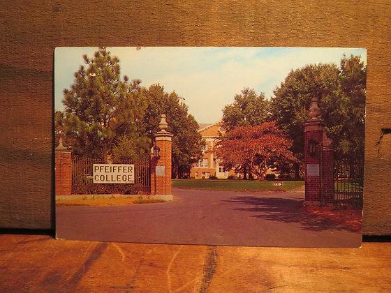 Pfeiffer College, Misenheimer, C, North Carolina