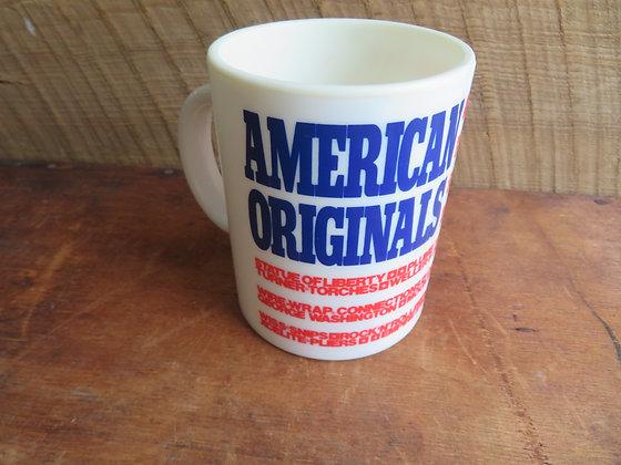 American Originals Plastic Promotional Mug