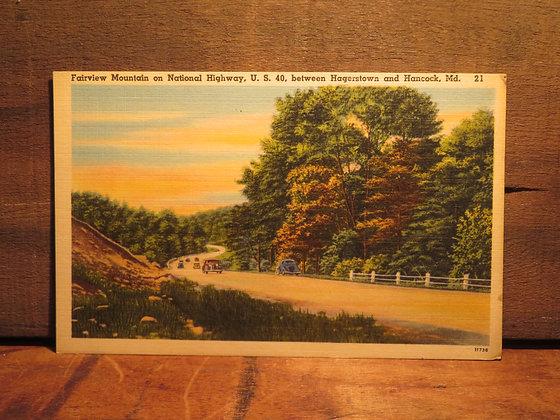 Fairview Mountain. Maryland
