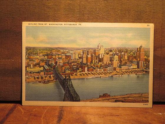 Mt. Washington,  Pittsburgh, Pennsylvania