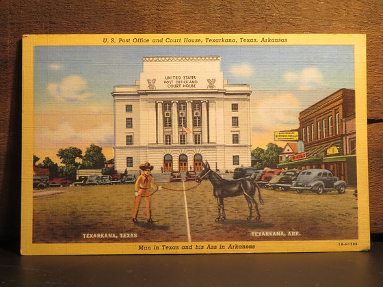 U.S. Post Office and Court House, Texarkana, Texas