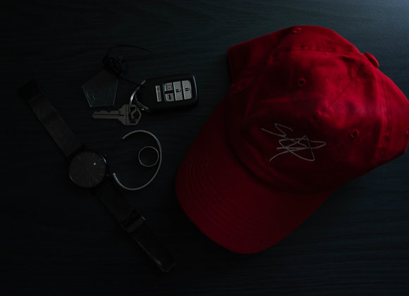 Pre-Order: Shrodrick Spikes Signature Dad-Hat Stephen's Hammer Edition