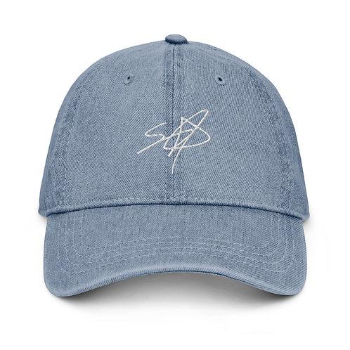 Shrodrick Spikes Signature Dad-Hat   Denim