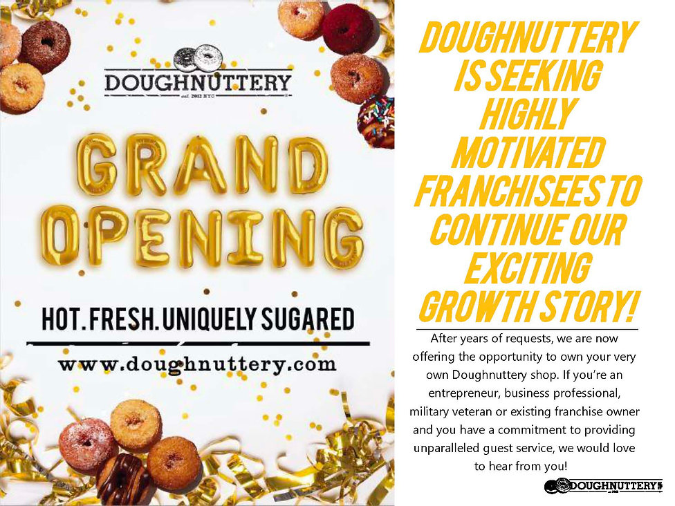 Doughnuttery Franchise Pitch  Deck_Final