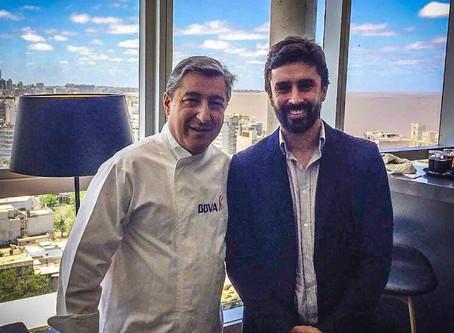 Agustín Miranda, el chef que trabajó en restaurantes con reconocimiento Michelin y está en Uruguay