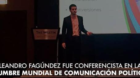 Leandro Fagúndez fue el conferencista más joven en el historial de la Cumbre