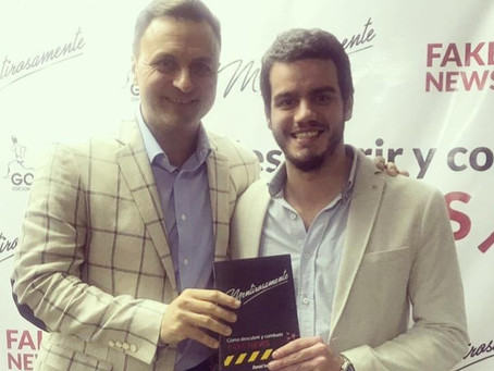 "Daniel Ivoskus llega a Montevideo para presentar ""Mentirosamente"", su séptimo libro"