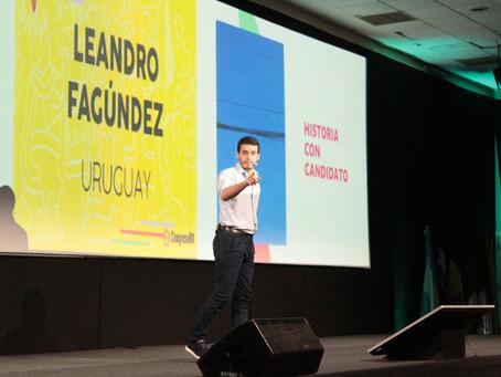 A diez días de Madrid: Leandro Fagúndez viaja a Europa para volver a ser conferencista