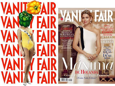 Revista Vanity Fair, Les Ciseaux, exposición Paris, Flaq, Sara Barrio, collages