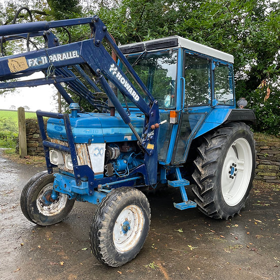 Ford 4610 with Loader