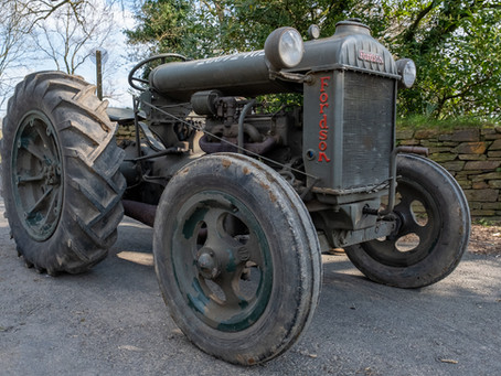 Fordson N Military Aircraft Tractor
