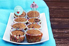 Kváskové čučoriedkové muffiny
