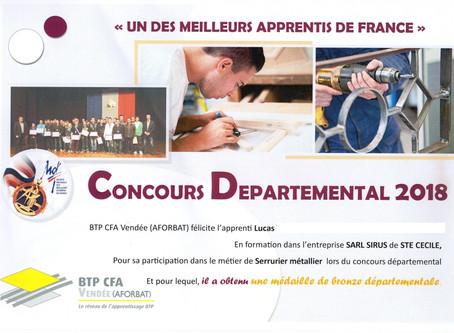Un des Meilleurs Apprentis de France