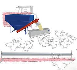 Construction de matériel avicole de plein air