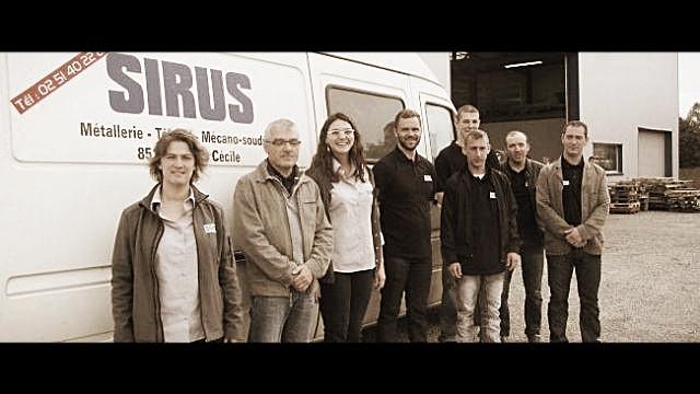 L'equipe SIRUS présente sur les salons