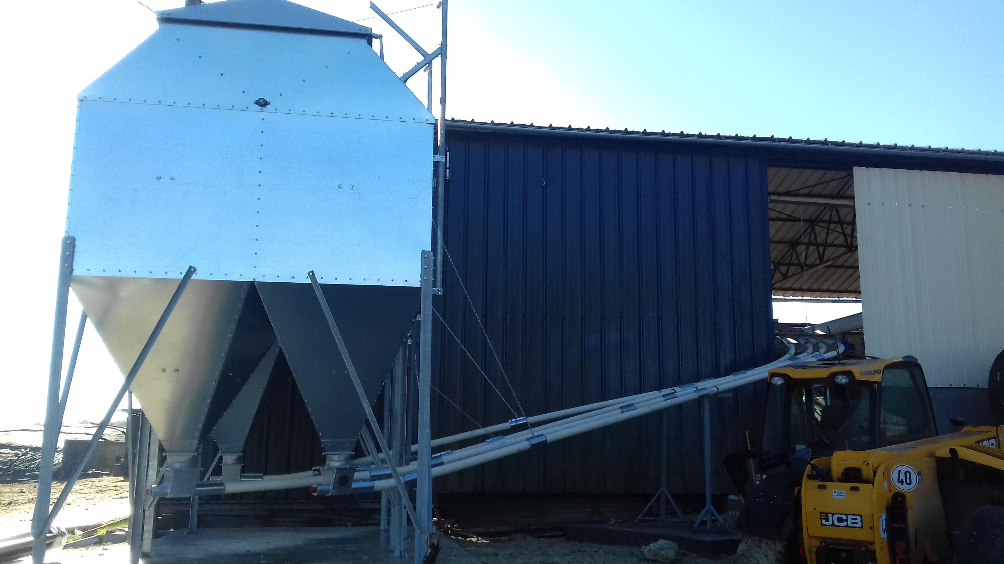 Vis de transfert départ du silo