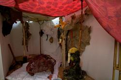 New Flesh small room installation