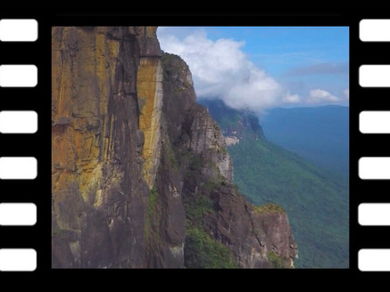 Venezuelan VR Aerial Waterfall Adventure
