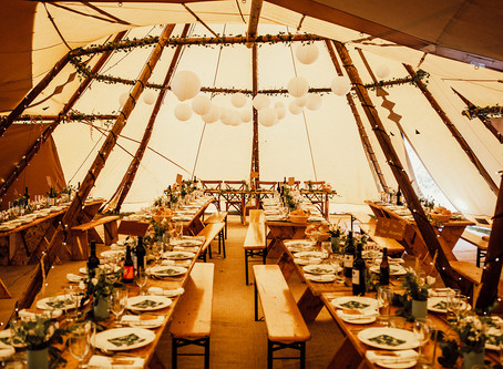 TOP 10 TIPS: PLANNING A TIPI WEDDING