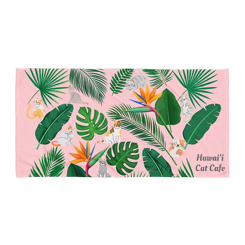Hawai'i Cats Beach Towel