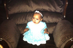 Ashleah as our baby
