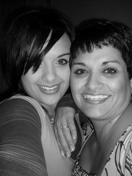 Ashleah and Mom