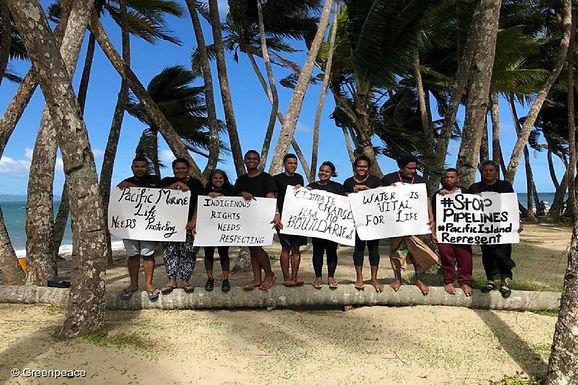 Le Pacifique met à fond la climatis-action
