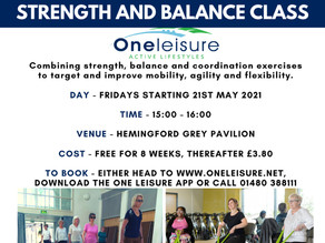 Right Start Strength and Balance Class